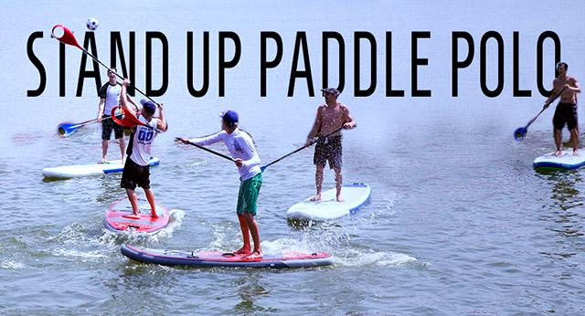 sup stand up paddle polo lacanau